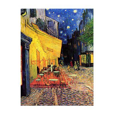 Kunstdruck - Alte Meister - Vincent van Gogh - Caféterrasse am Abend – Bild 2