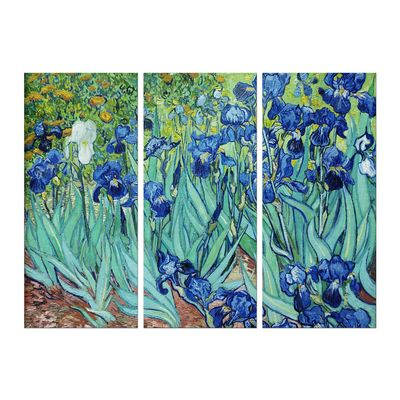 Leinwandbild - Alte Meister - Vincent van Gogh - Iris – Bild 6