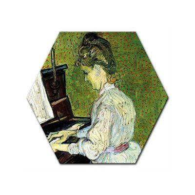 Kunstdruck - Alte Meister - Vincent van Gogh - Marguerite Gachet am Klavier – Bild 5
