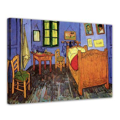 Vincent van Gogh - Vincents Schlafzimmer in Arles