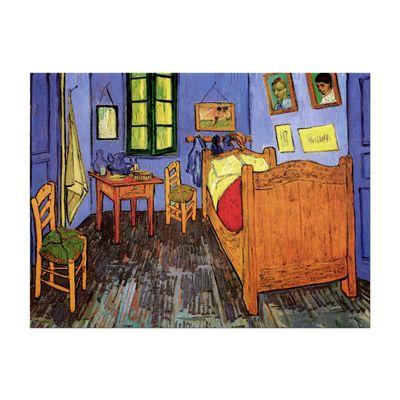 Leinwandbild - Alte Meister - Vincent van Gogh - Vincents Schlafzimmer in Arles – Bild 2