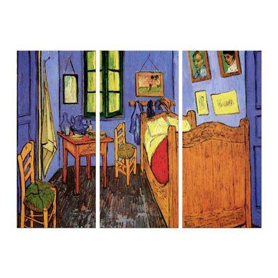 Leinwandbild - Alte Meister - Vincent van Gogh - Vincents Schlafzimmer in Arles – Bild 7