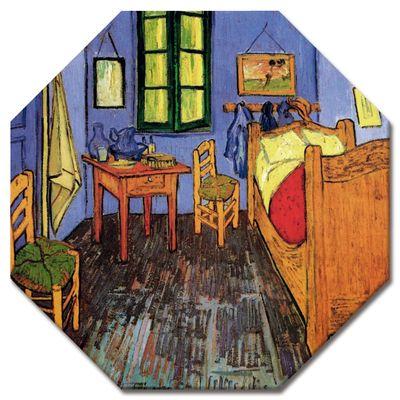 Leinwandbild - Alte Meister - Vincent van Gogh - Vincents Schlafzimmer in Arles – Bild 4