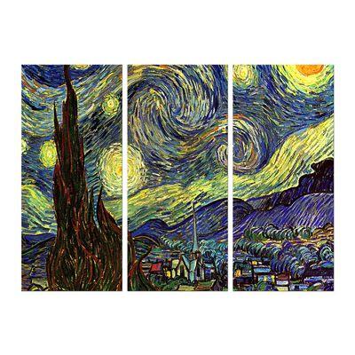Leinwandbild - Alte Meister - Vincent van Gogh - Sternennacht – Bild 9