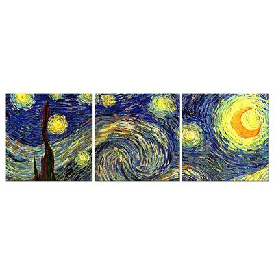 Leinwandbild - Alte Meister - Vincent van Gogh - Sternennacht – Bild 7