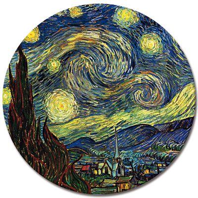 Kunstdruck - Alte Meister - Vincent van Gogh - Sternennacht – Bild 3