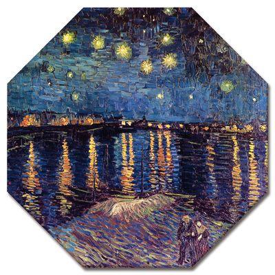 Leinwandbild - Alte Meister - Vincent van Gogh - Sternennacht über der Rhône – Bild 4