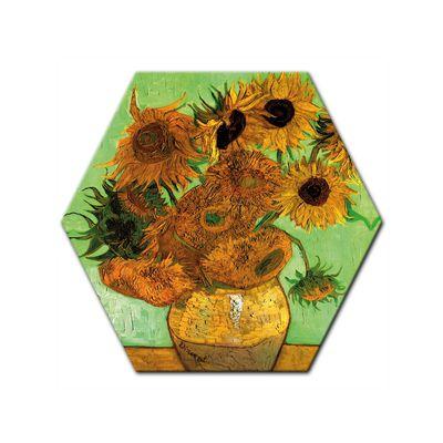 Kunstdruck - Alte Meister - Vincent van Gogh - Zwölf Sonnenblumen – Bild 6