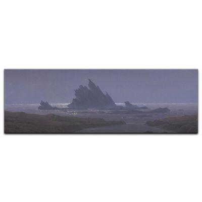 Kunstdruck - Alte Meister - Caspar David Friedrich - Felsenriff am Meeresstrand – Bild 3