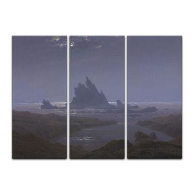 Kunstdruck - Alte Meister - Caspar David Friedrich - Felsenriff am Meeresstrand – Bild 5