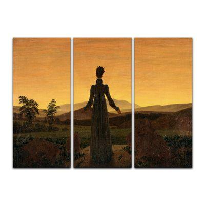 Caspar David Friedrich - Frau vor der untergehenden Sonne – Bild 3