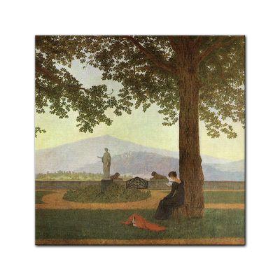Caspar David Friedrich - Gartenterasse – Bild 4