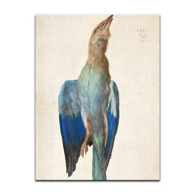 Kunstdruck - Alte Meister - Albrecht Dürer - Aquarell - Blaue Krähe – Bild 2