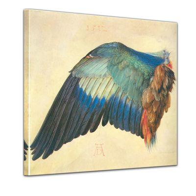 Albrecht Dürer - Flügel einer Blaurake – Bild 1