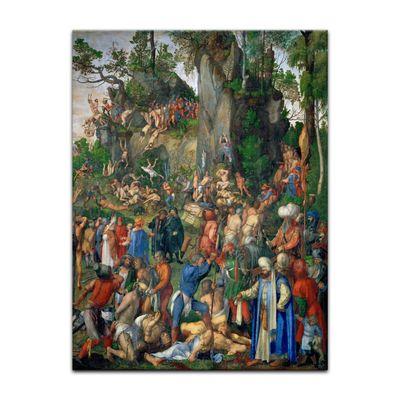Kunstdruck - Alte Meister - Albrecht Dürer - Marter der zehntausend Christen – Bild 4
