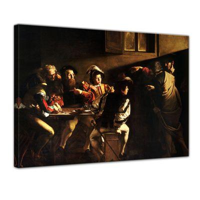 Kunstdruck - Alte Meister - Caravaggio - Berufung des Heiligen Matthäus – Bild 1