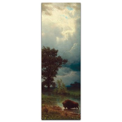 Albert Bierstadt - Buffalo Trail, The Impending Storm – Bild 6