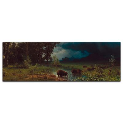 Albert Bierstadt - Buffalo Trail, The Impending Storm – Bild 8