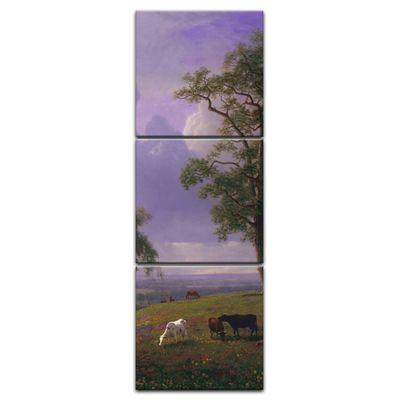 Leinwandbild - Alte Meister - Albert Bierstadt - California Spring – Bild 5