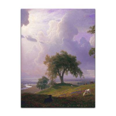 Leinwandbild - Alte Meister - Albert Bierstadt - California Spring – Bild 9