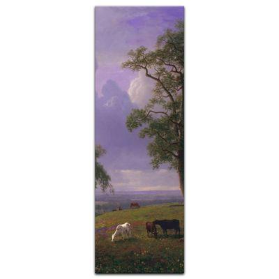 Leinwandbild - Alte Meister - Albert Bierstadt - California Spring – Bild 8