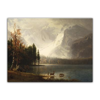 Albert Bierstadt - Estes Park, Colorado, Whyte's Lake – Bild 2