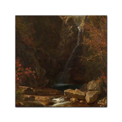 Albert Bierstadt - Glen Ellis Falls – Bild 6