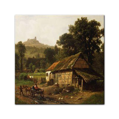 Albert Bierstadt - In the Foothills – Bild 4
