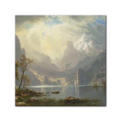 Albert Bierstadt - Lake Tahoe – Bild 4
