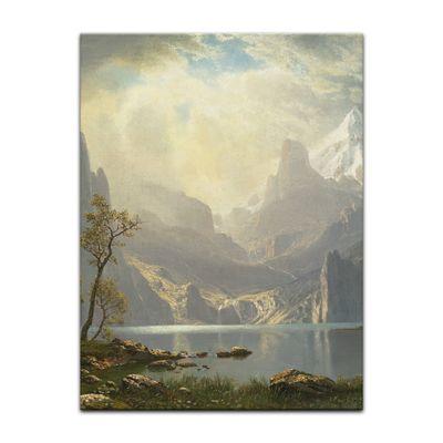 Albert Bierstadt - Lake Tahoe – Bild 9