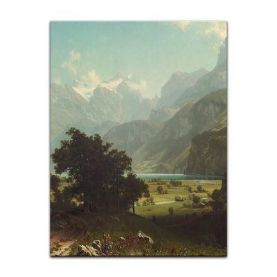 Albert Bierstadt - Lake Lucerne – Bild 4