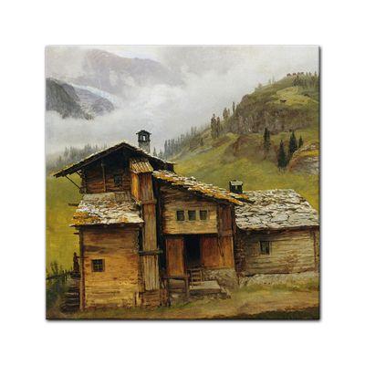 Albert Bierstadt - Mountain House – Bild 3