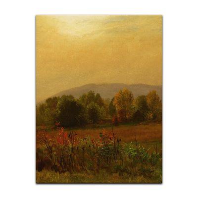Kunstdruck - Alte Meister - Albert Bierstadt - Autumn Landscape – Bild 10