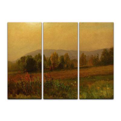 Kunstdruck - Alte Meister - Albert Bierstadt - Autumn Landscape – Bild 12