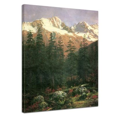 Albert Bierstadt - Canadian Rockies