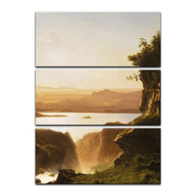 Kunstdruck - Alte Meister - Albert Bierstadt - Island Lake, Wind River Range, Wyoming – Bild 8