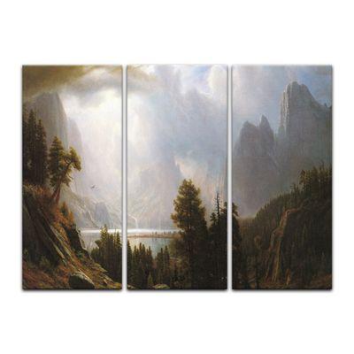 Kunstdruck - Alte Meister - Albert Bierstadt - Landscape – Bild 3