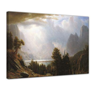 Kunstdruck - Alte Meister - Albert Bierstadt - Landscape – Bild 1