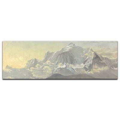 Kunstdruck - Alte Meister - Albert Bierstadt - Mont Blanc – Bild 5