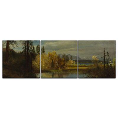 Kunstdruck - Alte Meister - Albert Bierstadt - Outlet at Lake Tahoe – Bild 11