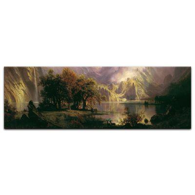 Kunstdruck - Alte Meister - Albert Bierstadt - Rocky Mountain Landscape – Bild 15