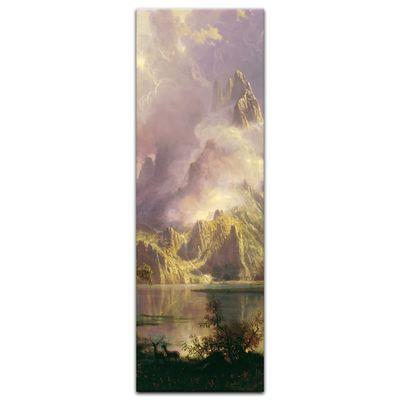 Kunstdruck - Alte Meister - Albert Bierstadt - Rocky Mountain Landscape – Bild 7