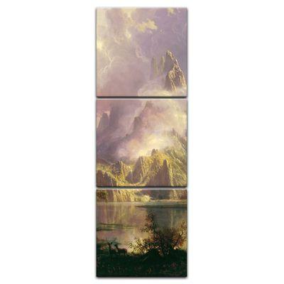 Kunstdruck - Alte Meister - Albert Bierstadt - Rocky Mountain Landscape – Bild 8