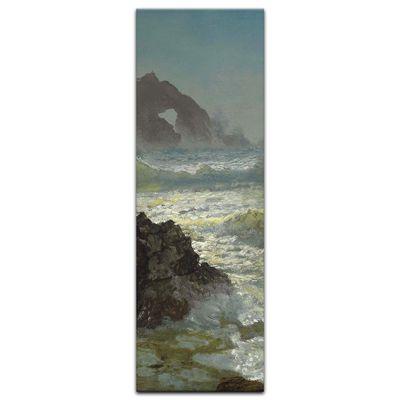 Kunstdruck - Alte Meister - Albert Bierstadt - Seal Rock, California – Bild 7