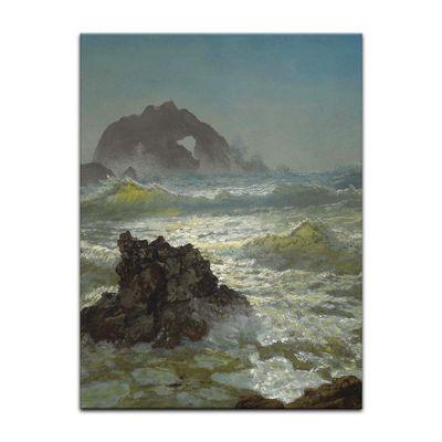 Kunstdruck - Alte Meister - Albert Bierstadt - Seal Rock, California – Bild 10