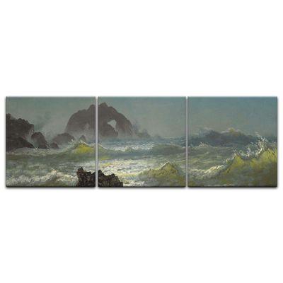 Kunstdruck - Alte Meister - Albert Bierstadt - Seal Rock, California – Bild 12