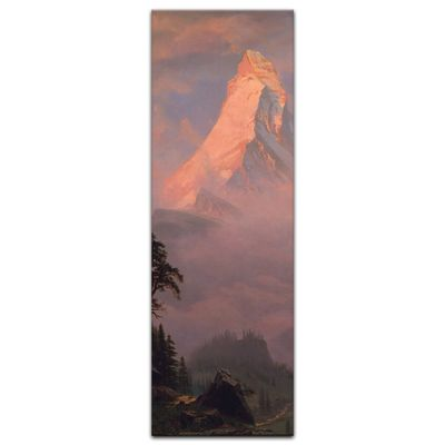 Kunstdruck - Alte Meister - Albert Bierstadt - Sunrise on the Matterhorn – Bild 2