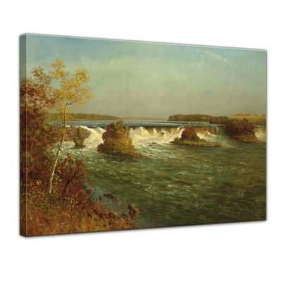 Kunstdruck - Alte Meister - Albert Bierstadt - The Falls of Saint Anthony – Bild 1