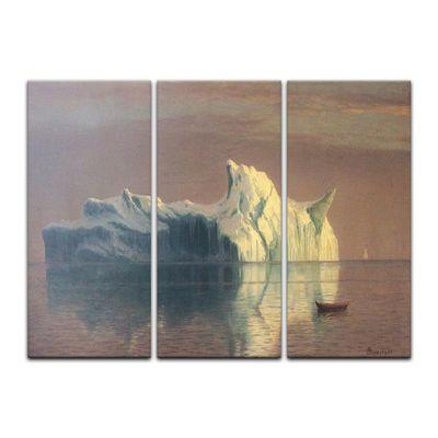 Kunstdruck - Alte Meister - Albert Bierstadt - The Iceberg – Bild 5