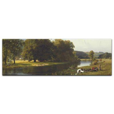 Kunstdruck - Alte Meister - Albert Bierstadt - Westphalia – Bild 6